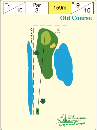 Old Course Hole 1 / 10