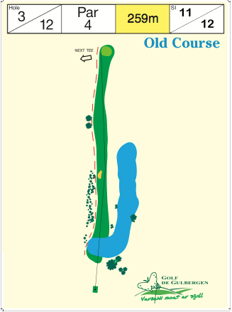 Old Course Hole 3 / 12