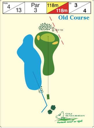 Old Course Hole 4 / 13