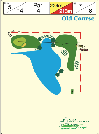 Old Course Hole 5 / 14