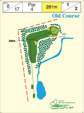 Old Course Hole 8 / 17