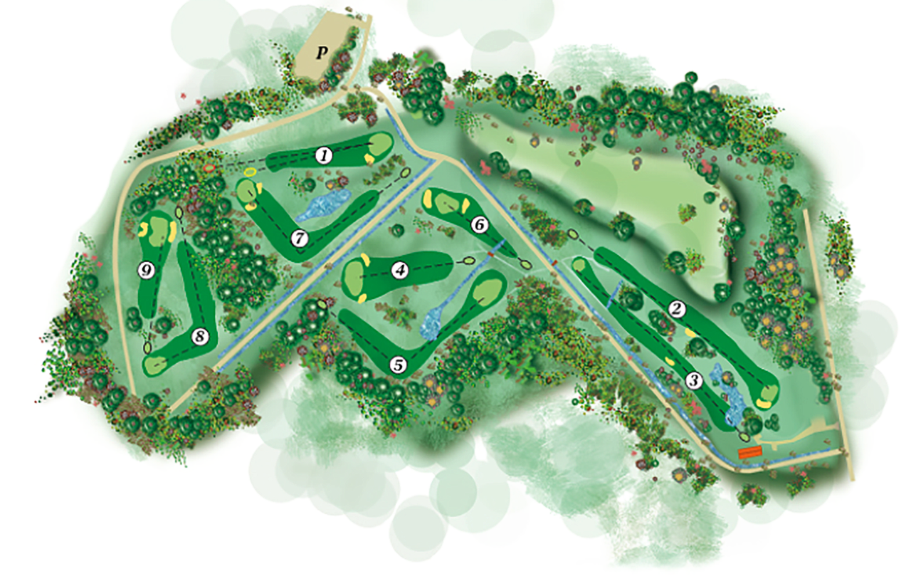 Old Course layout
